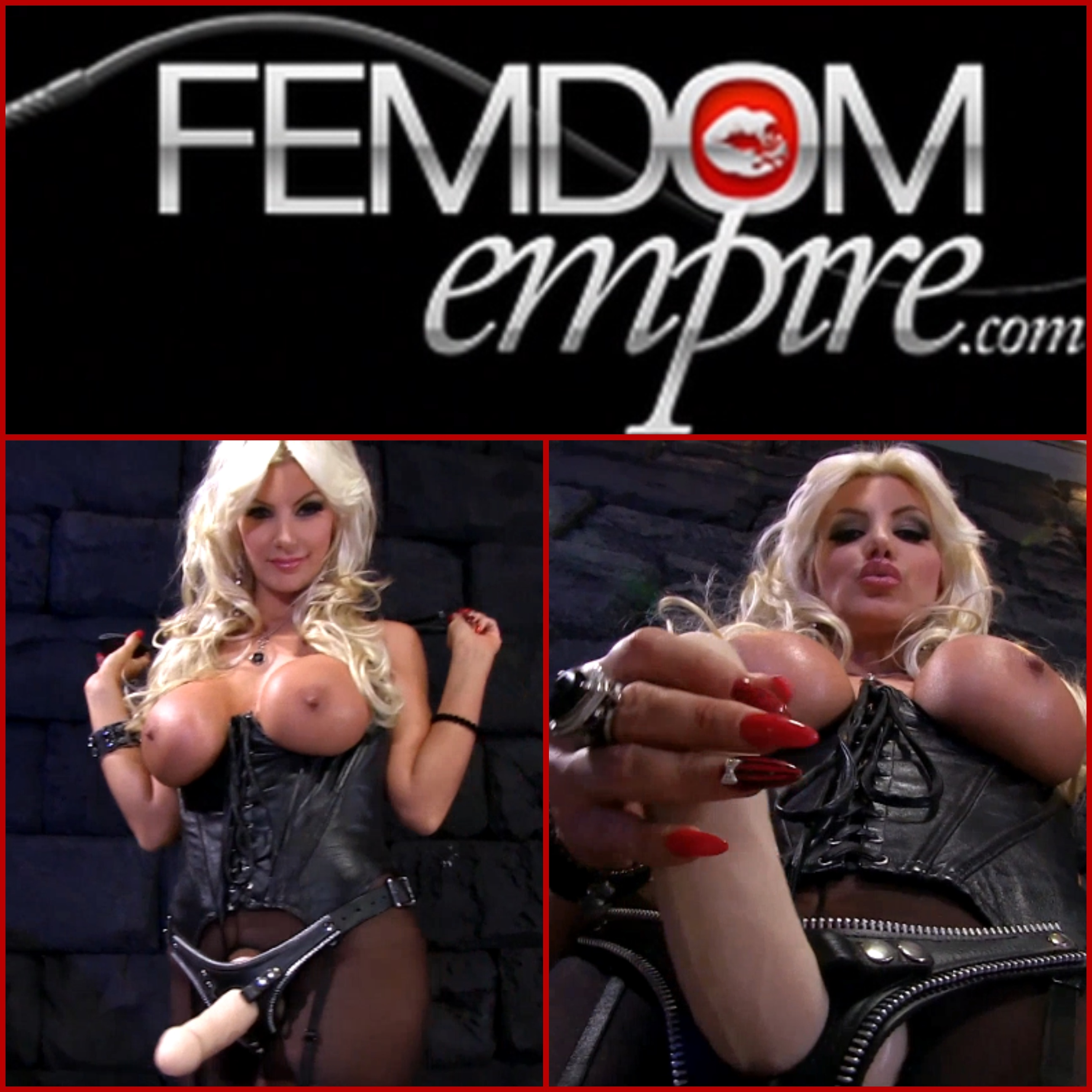 Meninpain femdom video and photo